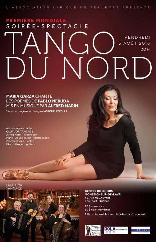 TANGO DU NORD - 5 août 2016- affiche__Maria-garza